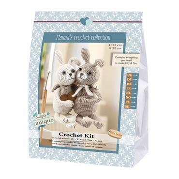 CROCHET KITS - LILLY & TIM RABBITS Detail Page
