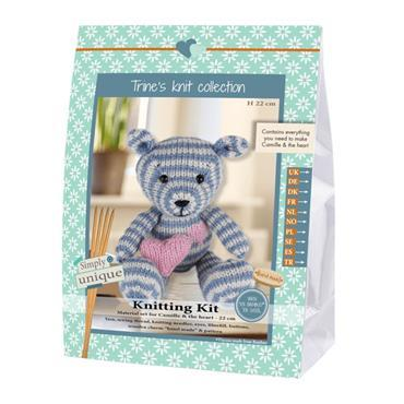 KNITTING KITS - CAMILLE BEAR Detail Page