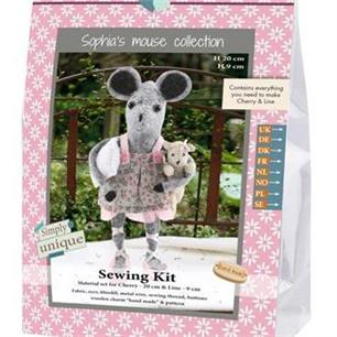 Sewing Kits - Mouse Sisters and Pillow Collection