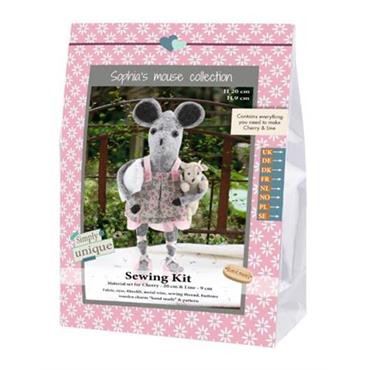 SEWING KITS - MOUSE SISTERS & PILLOW Detail Page