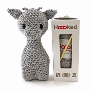 Hoooked Eco Barbante Kit Ziggy Giraffe