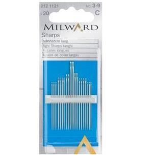 Milward Hand Sewing Needles