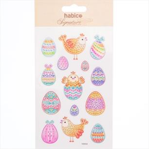 Crystal Easter Stickers