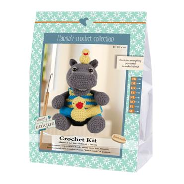 CROCHET KITS - HELMUT HIPPO Detail Page