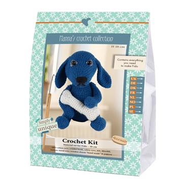 CROCHET KITS - FIDO DOG Detail Page