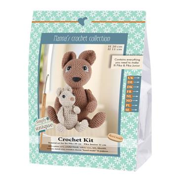 CROCHET KITS - ILI PIKA & PIKA JUNIOR RABBITS Detail Page