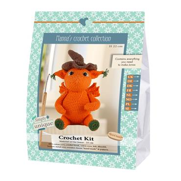 CROCHET KITS - JONAS DRAGON Detail Page