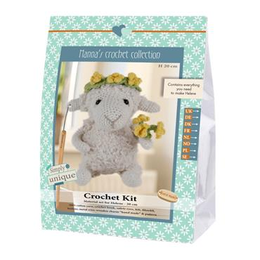 CROCHET KITS - HELENE SHEEP Detail Page