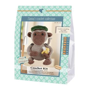 CROCHET KITS - JIMMI MONKEY Detail Page