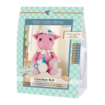CROCHET KITS  - HILLARY PIG Detail Page