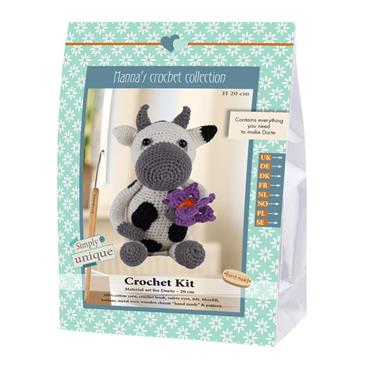 CROCHET KITS - DORTE COW Detail Page
