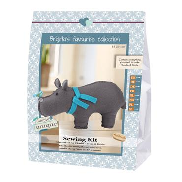 SEWING KITS - CHARLIE & BIRDIE HIPPO Detail Page