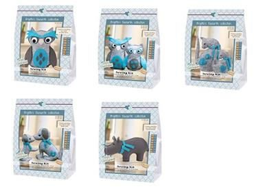 GH14/HIPPO SEWING KITS - HIPPO & FRIENDS COMPLETE COLLECTION Detail Page