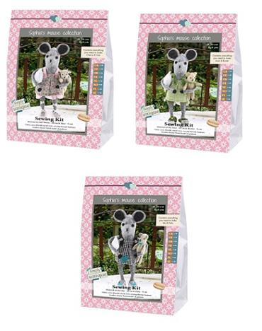 GH14/MOUSE SEWING KITS - MOUSE SISTERS COMPLETE COLLECTION Detail Page