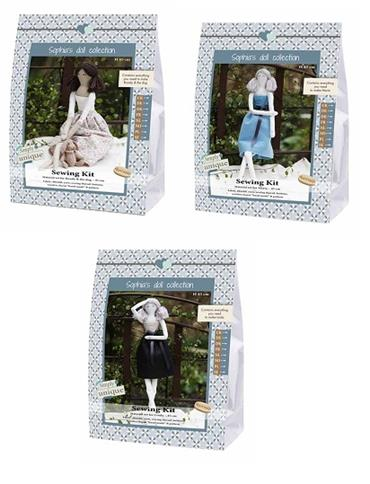 GH15/FABRIC DOLL - DOLL FAMILY COMPLETE COLLECTION Detail Page