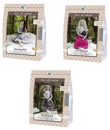 GH15/FELT DOLL SEWING KITS - COMPLETE COLLECTION Detail Page