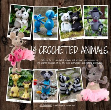 BOOKS 14 CROCHETED ANIMALS - UK Detail Page