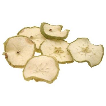 HC0052 FLORAL CRAFT - GREEN APPLE SLICES 12PCS Detail Page