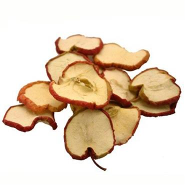 HC0053 FLORAL CRAFT - RED APPLE SLICES 12PCS Detail Page