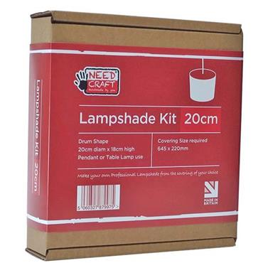 HC040 PROFESSIONAL LAMPSHADE MAKING KIT 20CM Detail Page