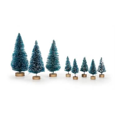 HC1616/29 8 PIECE XMAS SISAL TREE ASSORTED SIZES Detail Page
