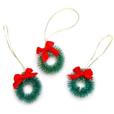 HC16470 25MM SISAL WREATHS 3PCS Detail Page