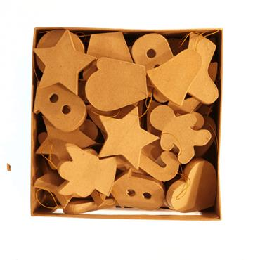 HC2824/76 BOX OF 72 PCS OF PAPER MACHE Detail Page