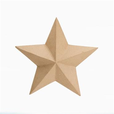 "HC2875/3180 12"" PAPER MACHE STAR OPEN BACK Detail Page"