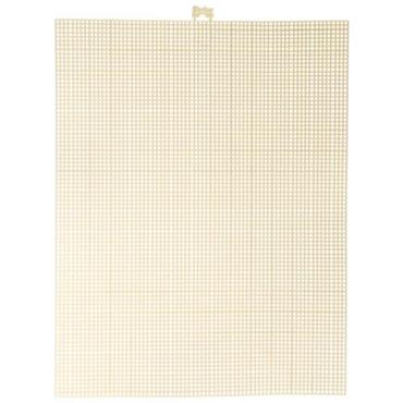 "10.5X13.75"" 7MESH PLASTIC CANVAS IVORY Detail Page"