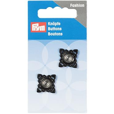 P341935 SEW-ON SNAP FASTENERS SQUARE 21 MM BLACK Detail Page