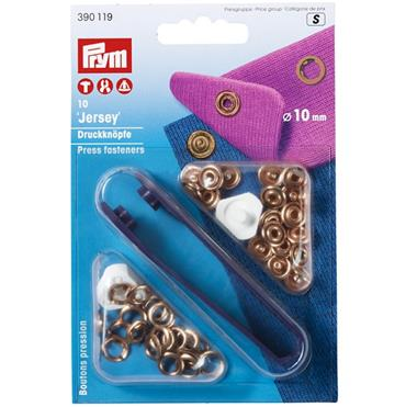 P390119 NON-SEW PRESS FASTENERS JERSEY BRASS 10 MM Detail Page
