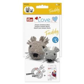 P624200 PRYM LOVE POM POM TEMPLATE MOUSE FREDDY Detail Page