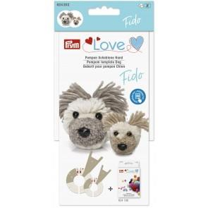 P624202 PRYM LOVE POM POM TEMPLATE DOG FIDO Detail Page