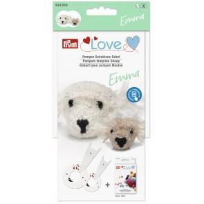 P624204 PRYM LOVE POM POM TEMPLATE SHEEP EMMA Detail Page
