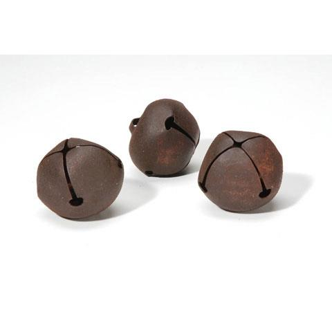 HC1090/97 40MM RUSTY JINGLE BELLS 3PCS X 3PACKS Detail Page