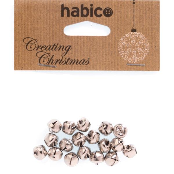 HC7581 10MM SILVER BELLS 18PCS PK 6 Detail Page