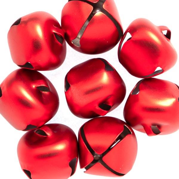 HC7586 15.5MM JINGLE BELLS 8PCS - RED Detail Page