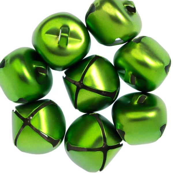 HC7591 25MM JINGLE BELLS 8PCS - MATT GREEN Detail Page