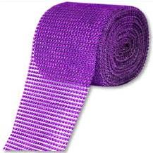 HTR/623 DIAMANTE EFFECT MESH PURPLE 9MT Detail Page