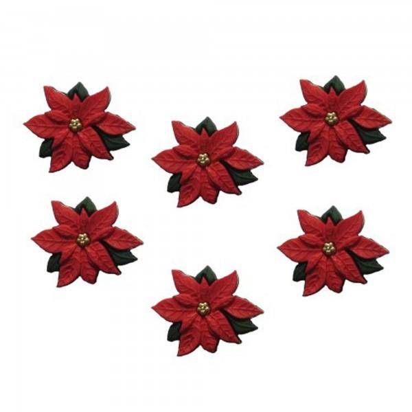 JJX/2951 RED POINSETTIAS Detail Page