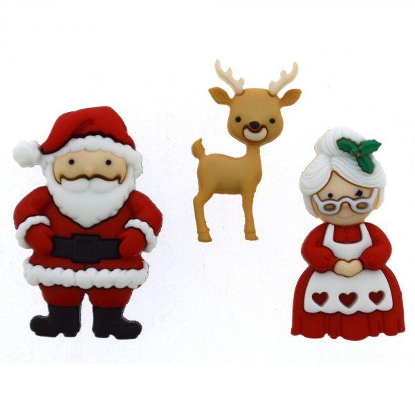 JJX/9499 MR AND MRS CLAUS Detail Page