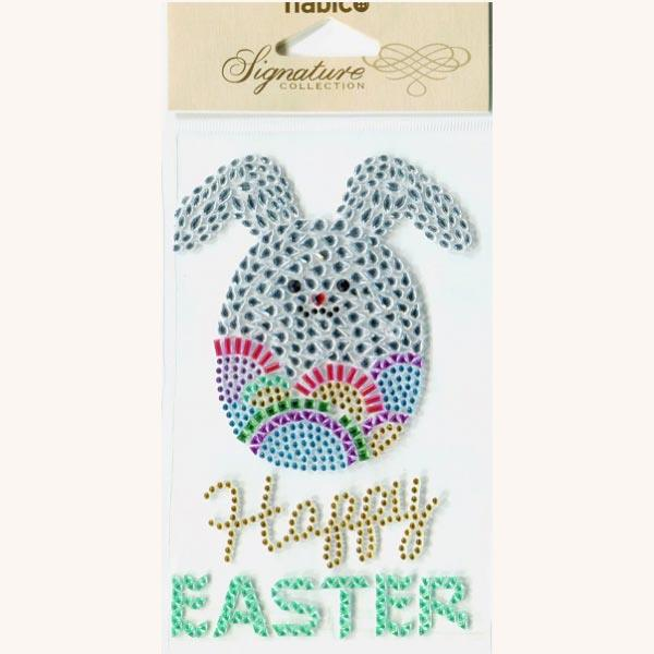 PP1081 HAPPY EASTER 3PCS - SELF ADHESIVE STICKERS Detail Page