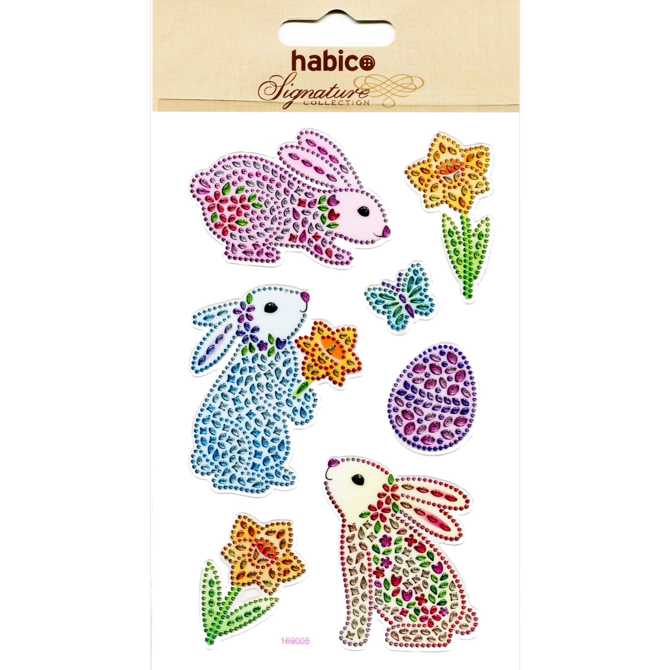 PP1118/169005 CRYSTAL STICKERS PACK OF 10 Detail Page