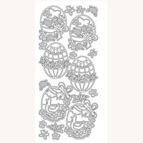 PP145/2099S EASTER EGGS SILVER Detail Page