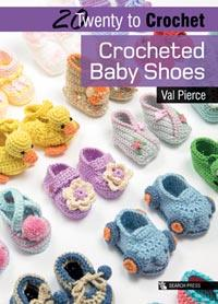 SPB93508/P4076  CROCHETED BABY SHOES Detail Page