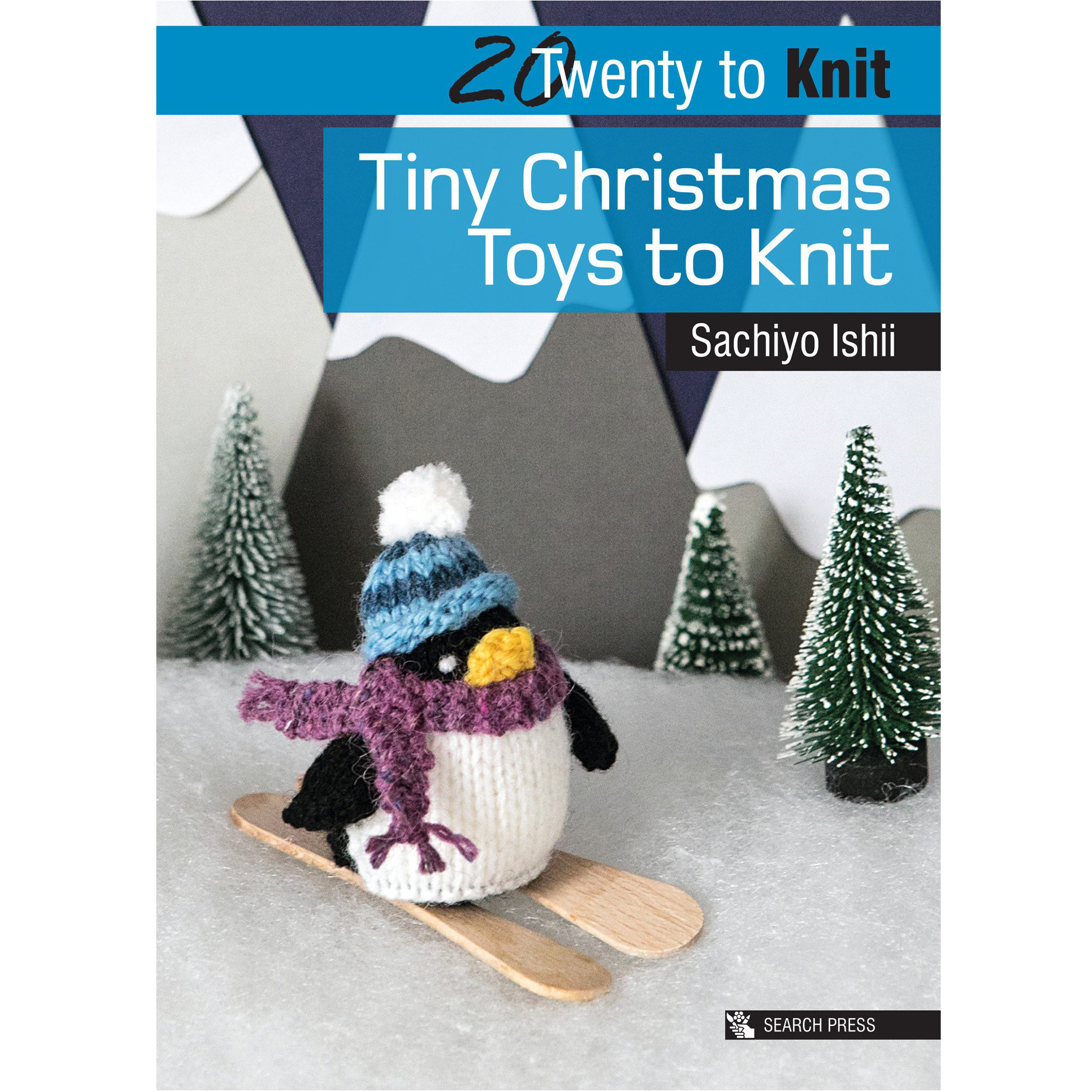 SPB93508/P8586 TINY CHRISTMAS TOYS TO CROCHET Detail Page